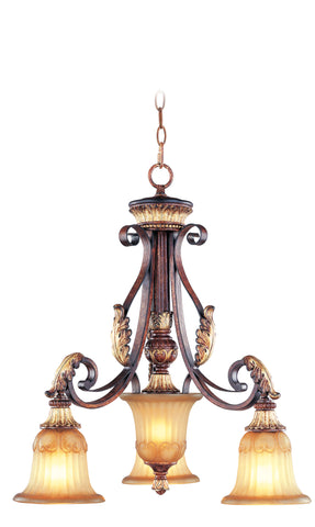 Livex Villa Verona 3 Light VBZ Chandelier - C185-8573-63