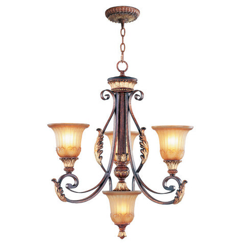 Livex Villa Verona 3 Light VBZ Chandelier - C185-8574-63