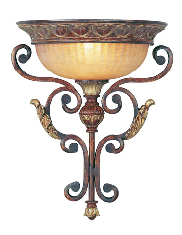 Livex Villa Verona 1 Light VBZ Wall Sconce - C185-8580-63