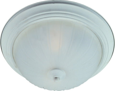 2-Light Flush Mount Textured White - C157-85831FTTW