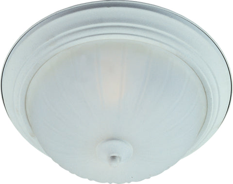 3-Light Flush Mount Textured White - C157-85832FTTW