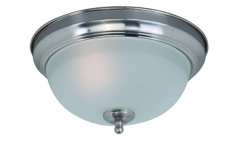 1-Light Flush Mount Satin Nickel - C157-85840FTSN