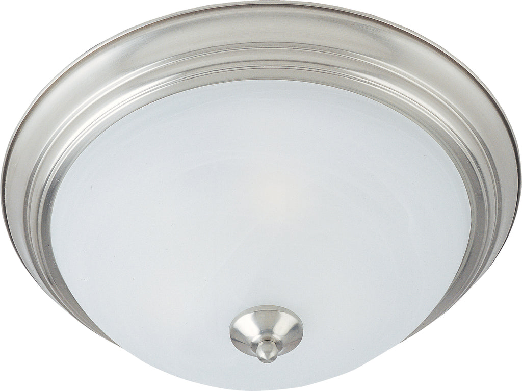 1-Light Flush Mount Satin Nickel - C157-85840MRSN