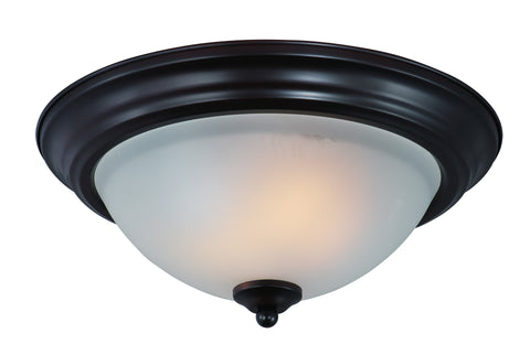 2-Light Flush Mount Oil Rubbed Bronze - C157-85841FTOI