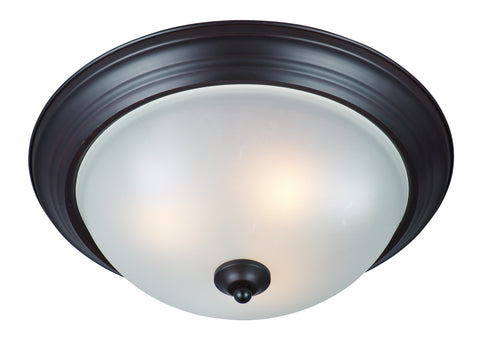 3-Light Flush Mount Oil Rubbed Bronze - C157-85842FTOI