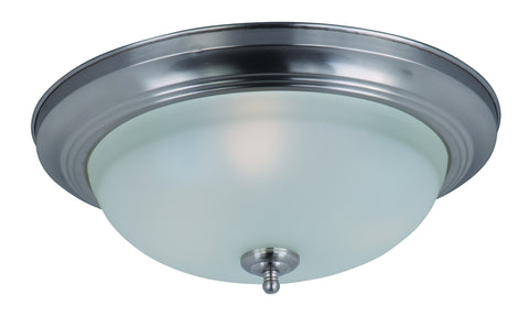 3-Light Flush Mount Satin Nickel - C157-85842FTSN