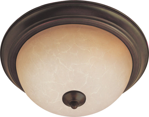 3-Light Flush Mount Oil Rubbed Bronze - C157-85842WSOI