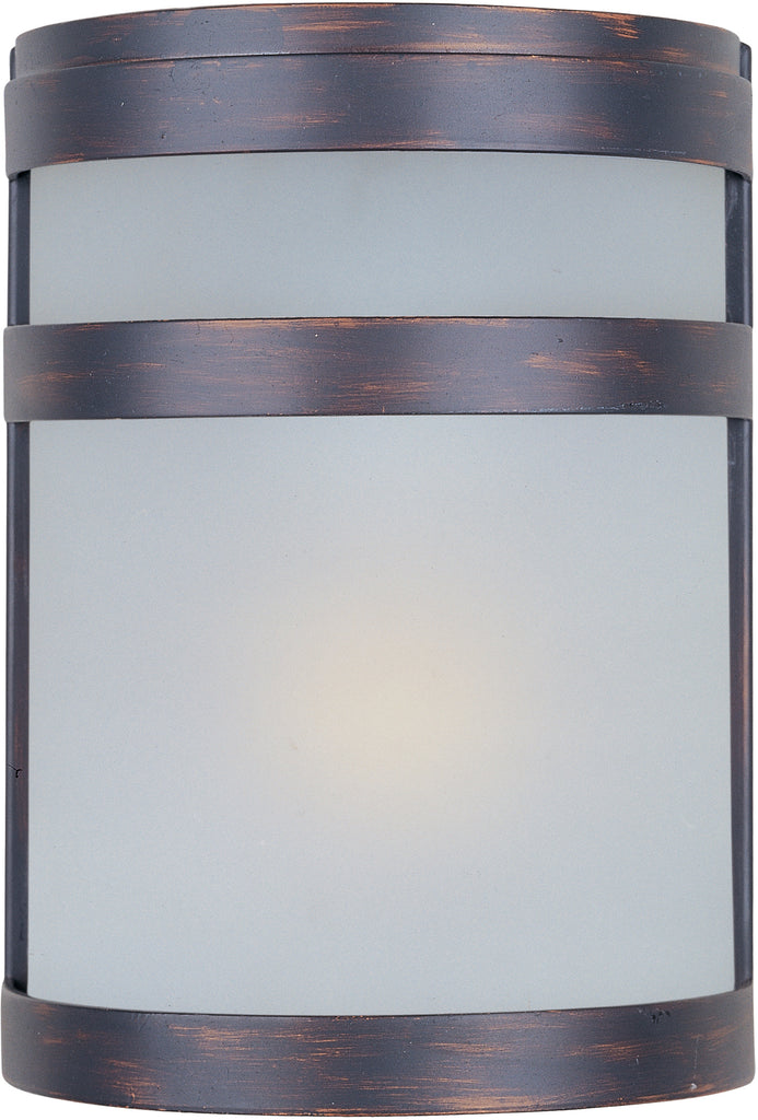 Arc EE 1-Light Outdoor Wall Lantern Oil Rubbed Bronze - C157-86005FTOI