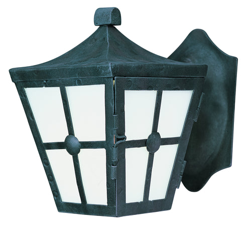 Castille EE 1-Light Outdoor Wall Lantern Country Forge - C157-86231FTCF