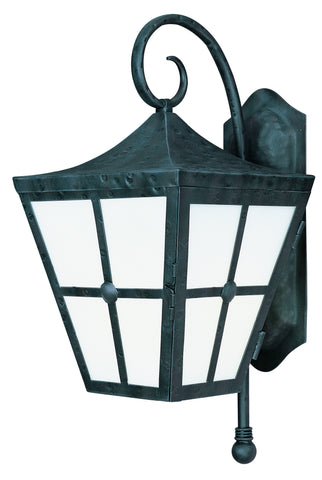 Castille EE 1-Light Outdoor Wall Lantern Country Forge - C157-86234FTCF