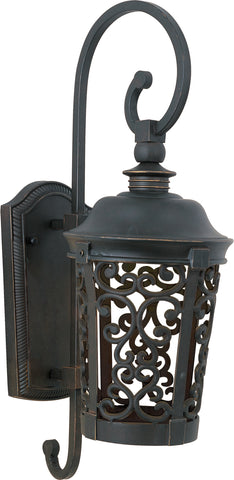 Whisper Dark Sky EE 1-Light Outdoor Wall Lantern Bronze - C157-86393BZ
