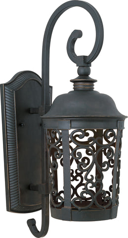 Whisper Dark Sky EE 1-Light Outdoor Wall Lantern Bronze - C157-86394BZ