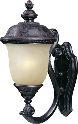 Carriage House EE 1-Light Outdoor Wall Lantern Oriental Bronze - C157-86523MOOB
