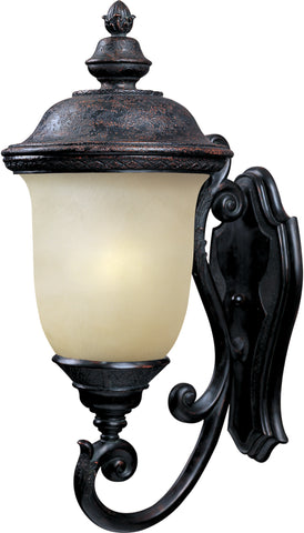 Carriage House EE 1-Light Outdoor Wall Lantern Oriental Bronze - C157-86524MOOB