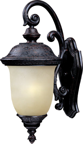 Carriage House EE 1-Light Outdoor Wall Lantern Oriental Bronze - C157-86596MOOB