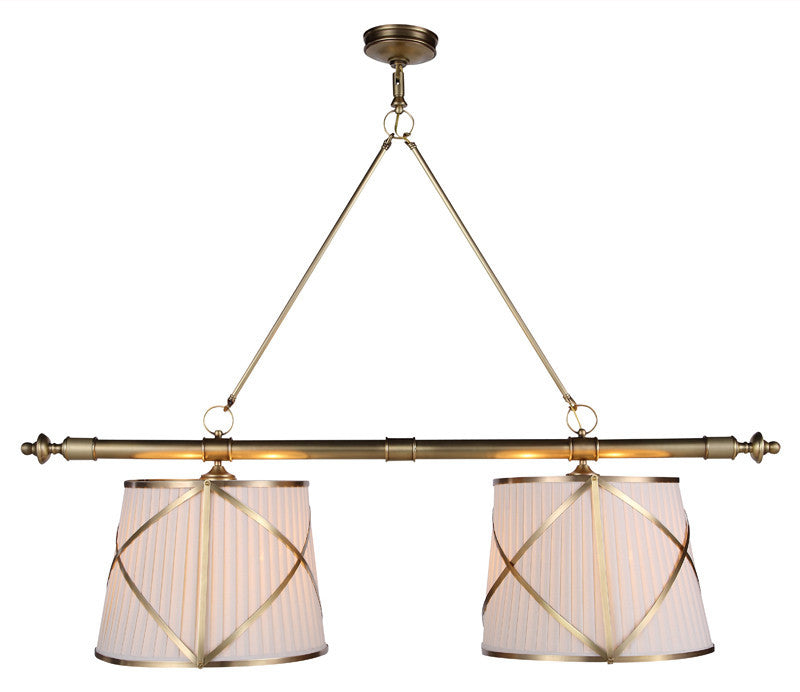 C121-1408G51BB By Elegant Lighting - Fairmount Collection Burnished Brass Finish 4 Lights Pendant lamp