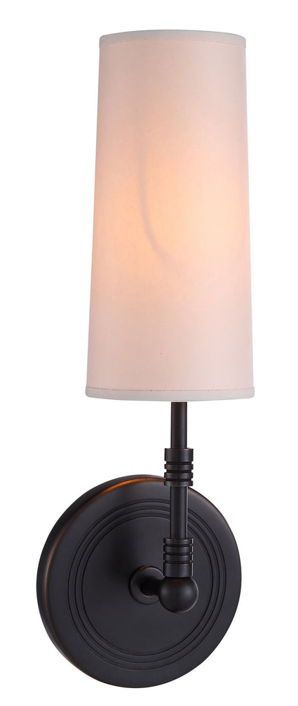 C121-1410W4BZ By Elegant Lighting - Richmond Collection Bronze Finish 1 Light Pendant lamp
