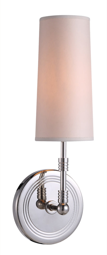 C121-1410W4PN By Elegant Lighting - Richmond Collection Polished Nickel Finish 1 Light Pendant lamp