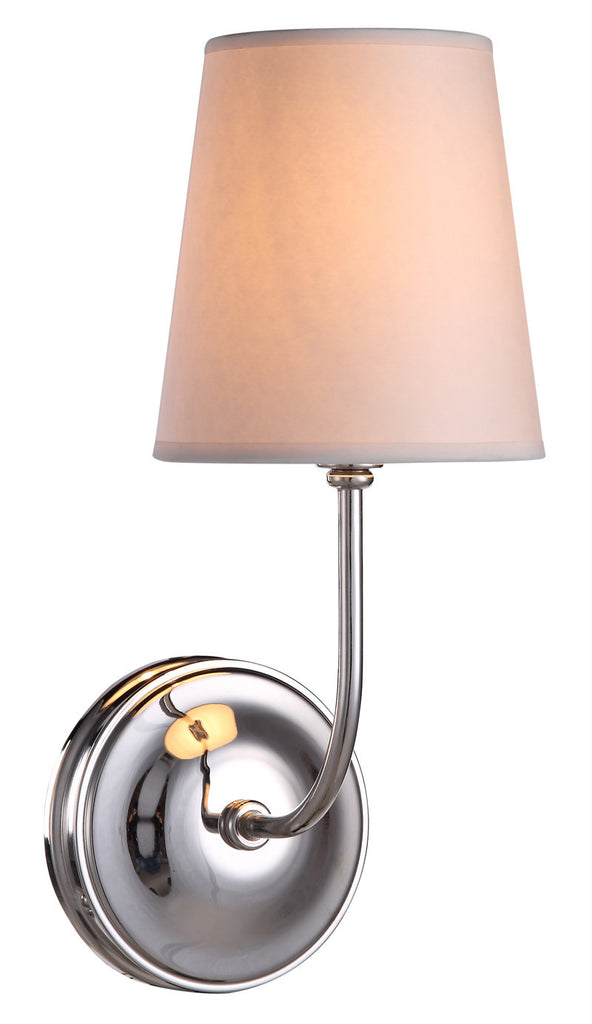 C121-1411W6PN By Elegant Lighting - Lancaster Collection Polished Nickel Finish 3 Lights Wall Sconce