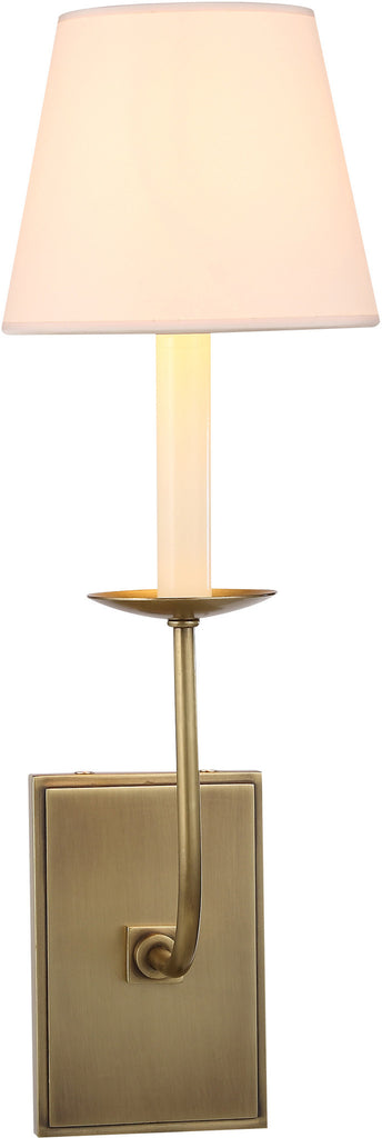 C121-1435W4BB By Elegant Lighting - Penelope Collection Burnished Brass Finish 1 Light Wall Sconce