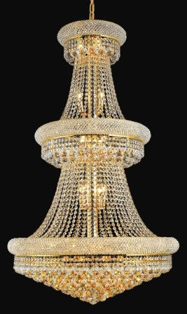ZC121-V1800G30G By Regency Lighting-Primo Collection Gold Finish 32 Lights Chandelier