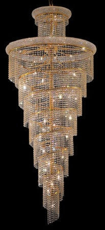 ZC121-V1800SR36G By Regency Lighting-Primo Collection Gold Finish 32 Lights Chandelier