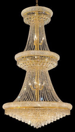 C121-1802G36G By Regency Lighting-Primo Collection Gold Finish 32 Lights Chandelier