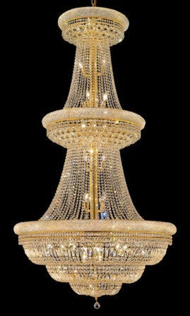 C121-1803G42G By Regency Lighting-Primo Collection Gold Finish 38 Lights Chandelier