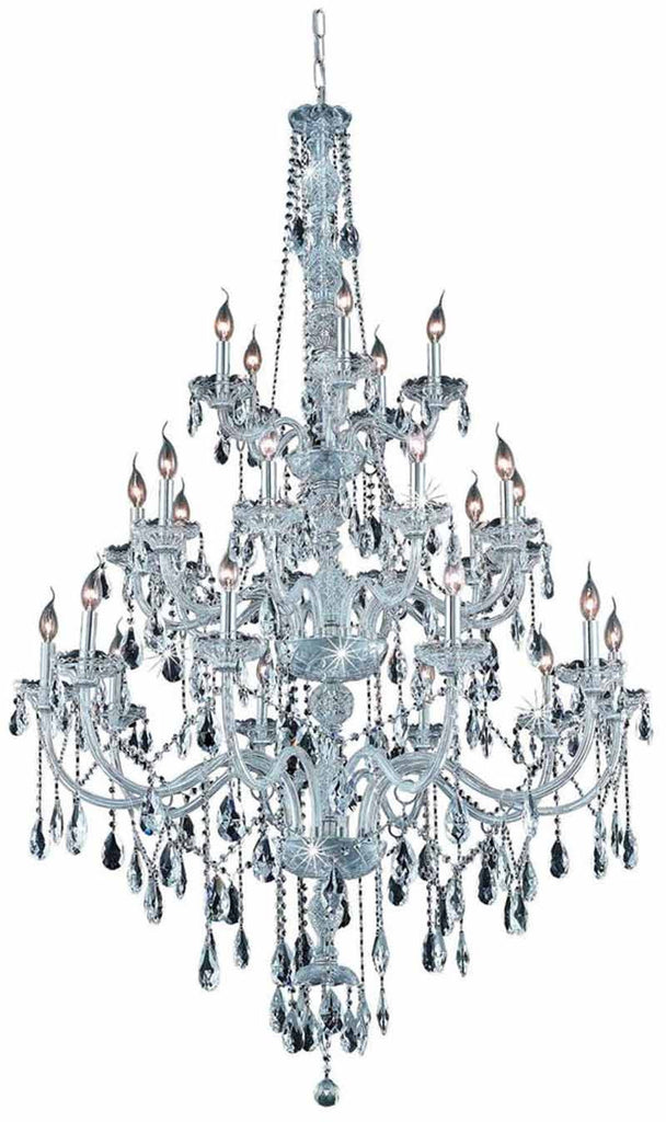 ZC121-7925G43C/EC By Regency Lighting - Verona Collection Chrome Finish 25 Lights Foyer/Hallway