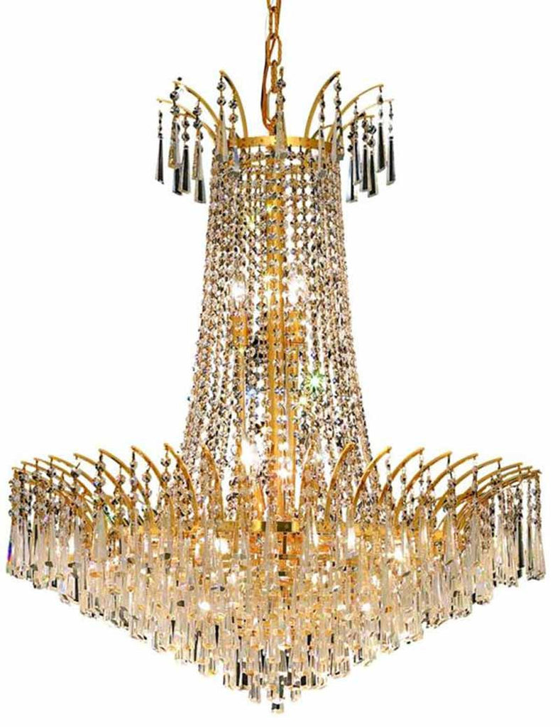 ZC121-8032D29G/EC By Regency Lighting - Victoria Collection Gold Finish 16 Lights Dining Room