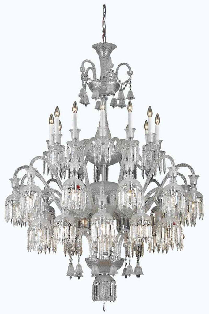 C121-8936G48C/EC By Elegant Lighting - Majestic Collection 36 Lights Foyer/Hallway