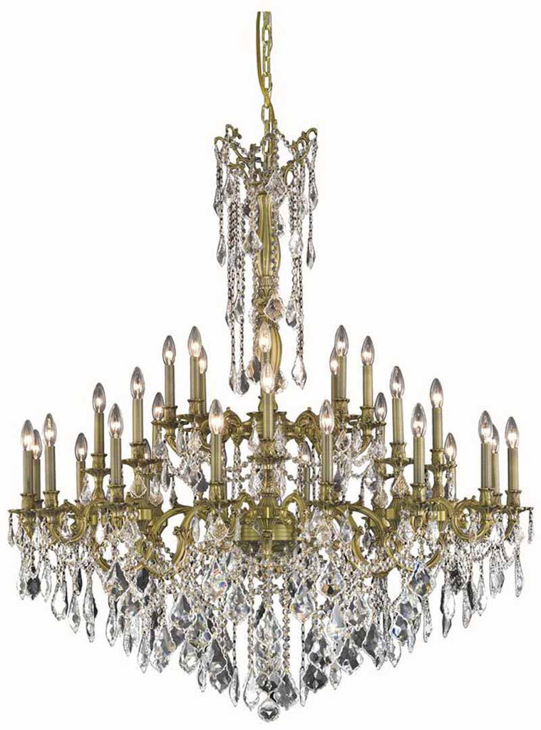 C121-9232G48AB/EC By Elegant Lighting - Rosalia Collection Antique Bronze Finish 32 Lights Foyer/Hallway