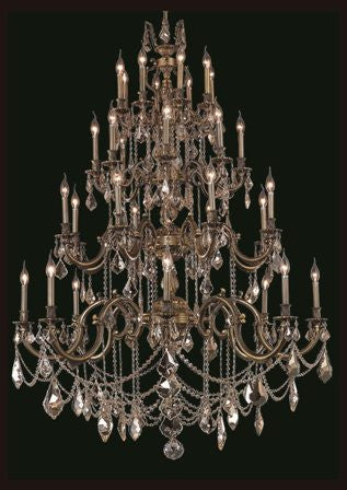 C121-9532G48AB By Regency Lighting-Marseille Collection Antique Bronze Finish 32 Lights Chandelier