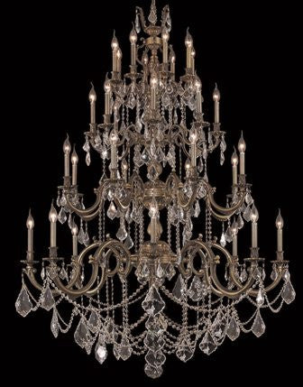 C121-9532G48AB-GS By Regency Lighting-Marseille Collection Antique Bronze Finish 32 Lights Chandelier