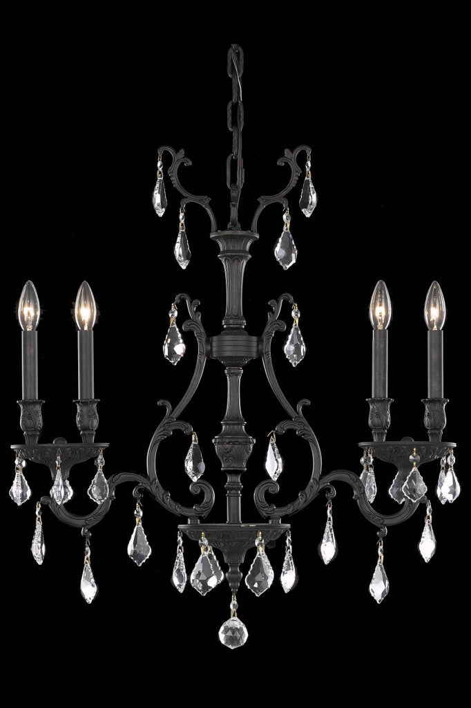 ZC121-9604D26DB/EC By Regency Lighting Monarch Collection 4 Light Wall Sconces Dark Bronze Finish