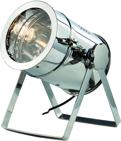 C121-TL1250 By Elegant Lighting - Industrial Collection Chrome Finish 1 Light Table Lamp