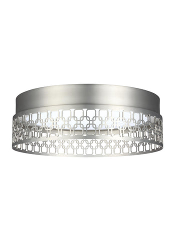 Murray Feiss 1 - Light Indoor LED Flush Mount Satin Nickel - C140-FM500SN-LED