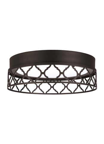 Murray Feiss 1 - Light Indoor LED Flush Mount Oil Rubbed Bronze - C140-FM501ORB-LED