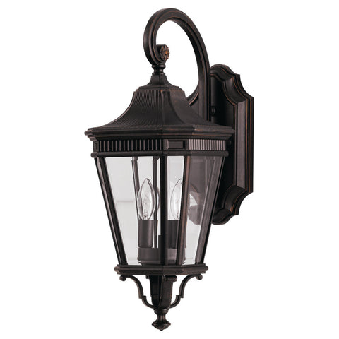Murray Feiss 2 Bulb Grecian Bronze Outdoor   - C140-OL5401GBZ