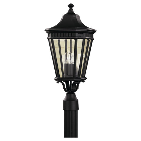 Murray Feiss 3 Bulb Black Outdoor   - C140-OL5407BK