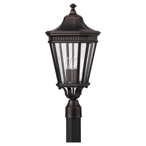 Murray Feiss 3 Bulb Grecian Bronze Outdoor   - C140-OL5407GBZ