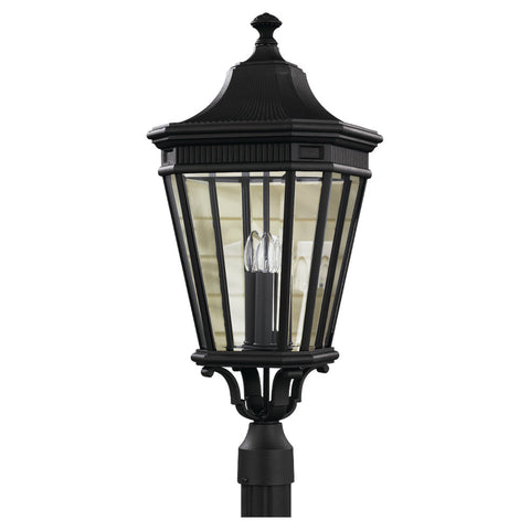 Murray Feiss 3 Bulb Black Outdoor   - C140-OL5408BK