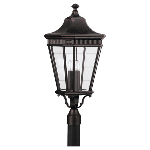 Murray Feiss 3 Bulb Grecian Bronze Outdoor   - C140-OL5408GBZ