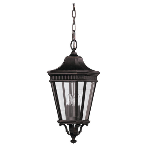 Murray Feiss 3 Bulb Grecian Bronze Outdoor   - C140-OL5411GBZ