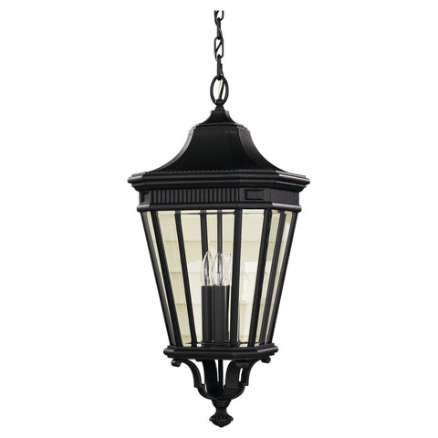 Murray Feiss 3 Bulb Black Outdoor   - C140-OL5412BK