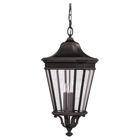 Murray Feiss 3 Bulb Grecian Bronze Outdoor   - C140-OL5412GBZ