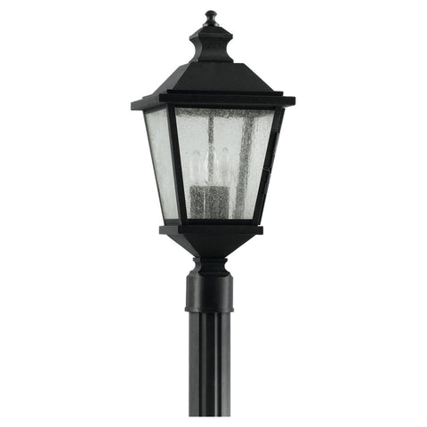Murray Feiss 3 Bulb Black Outdoor   - C140-OL5707BK