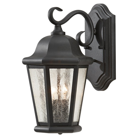 Murray Feiss 2 Bulb Black Outdoor Lighting - C140-OL5901BK