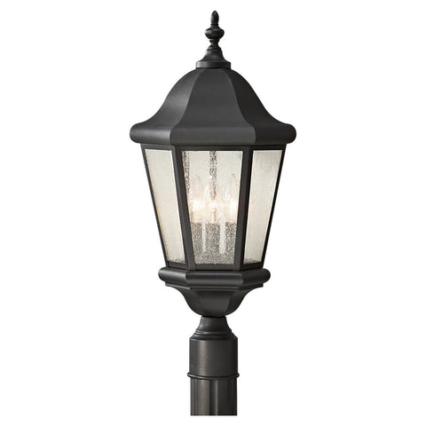 Murray Feiss 3 Bulb Black Outdoor Lighting - C140-OL5907BK