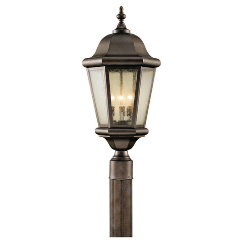 Murray Feiss 3 Bulb Corinthian Bronze Outdoor   - C140-OL5907CB